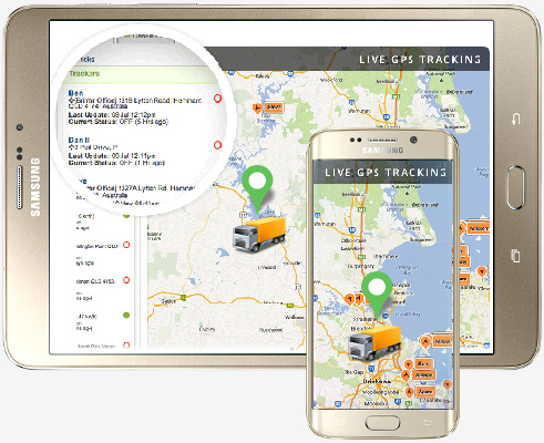 mobile gps tracking report